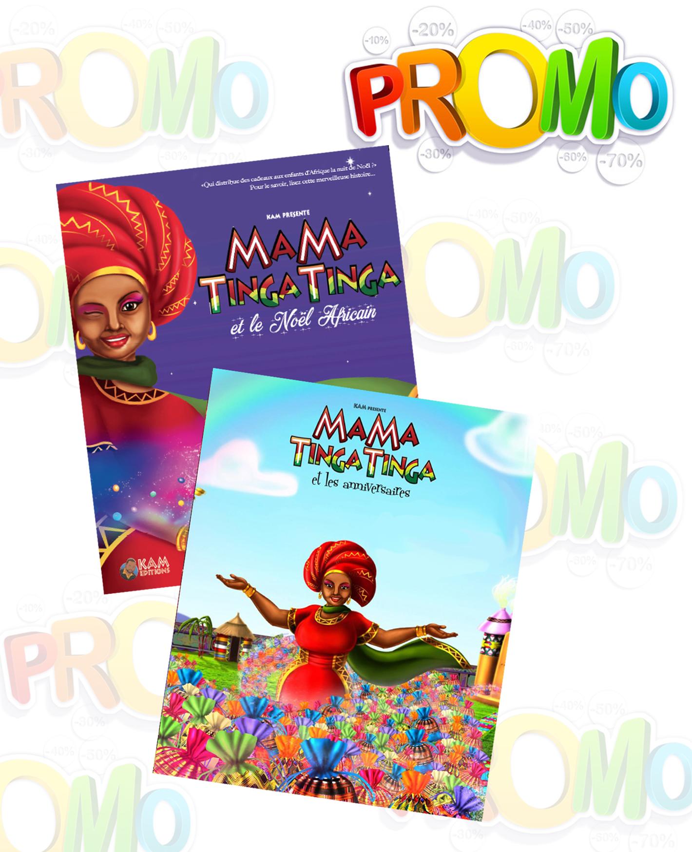 SUPER PROMO DE FIN D'ANNEE! Le pack de 2 Livres